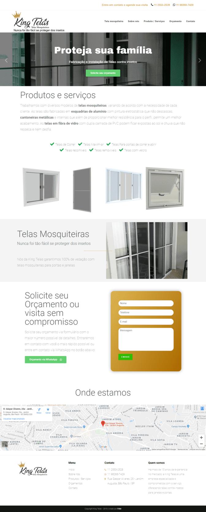 portifolio agencia friiv kingtelas.com.br