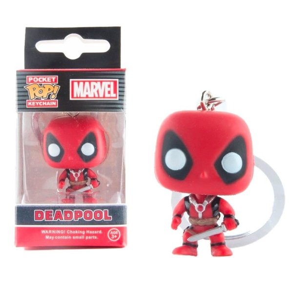 Llavero Pocket POP Deadpool Masacre Marvel