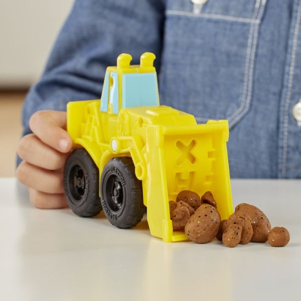 Excavadora y Cargadora Wheels Play-Doh