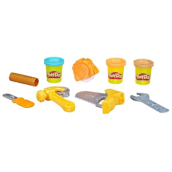 Kit Herramientas Construccion Play-Doh