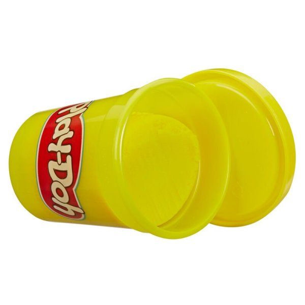 Pack 12 botes Play-Doh Amarillo