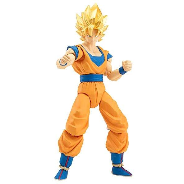 Figura deluxe Super Saiyan Goku Dragon Ball Super