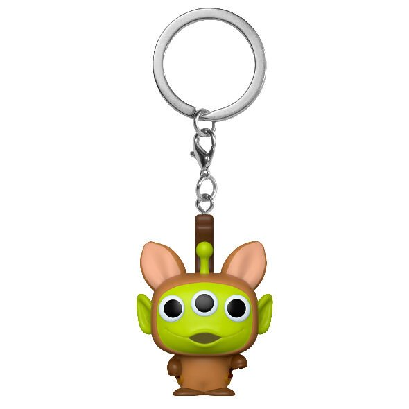Llavero Pocket POP Disney Pixar Alien Remix Bullseye
