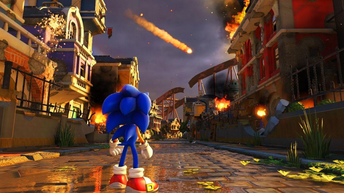 Sonic Forces funciona a 30 FPS en Nintendo Switch