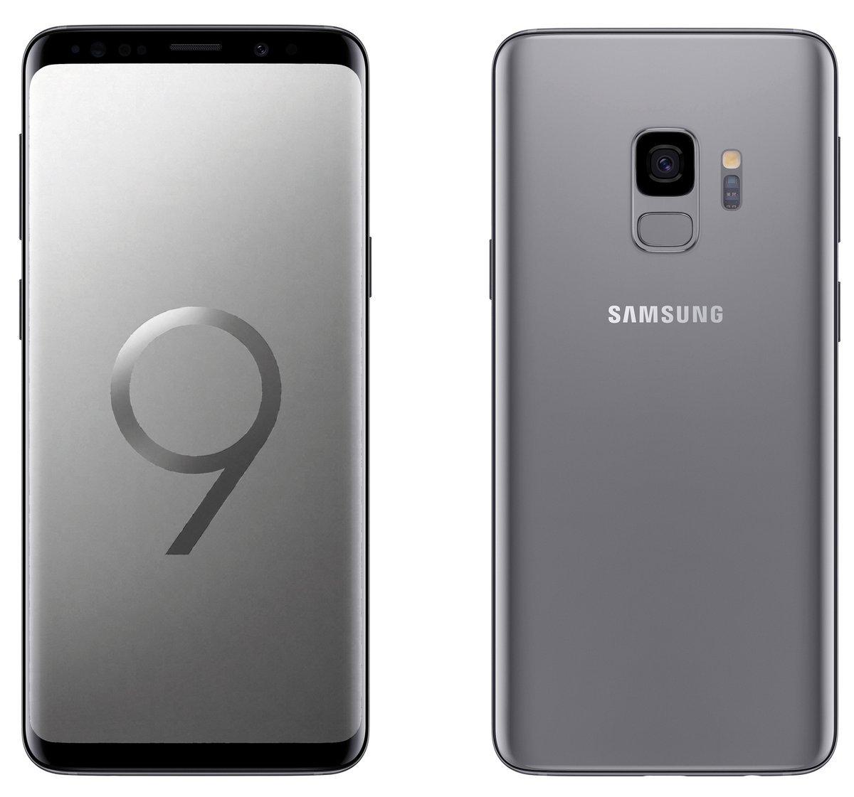 Filtran imágenes del Galaxy S9 y S9 + en cada color
