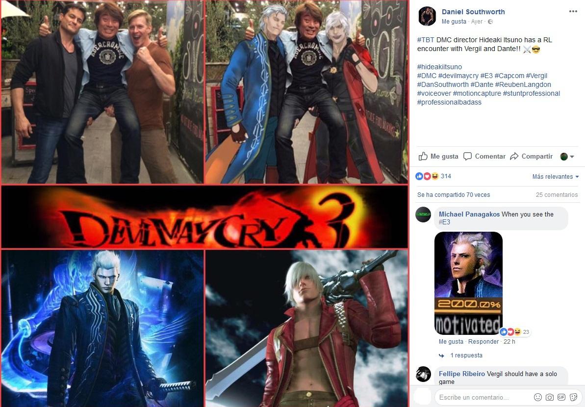 Devil May Cry 5 podría presentarse en el E3 2018