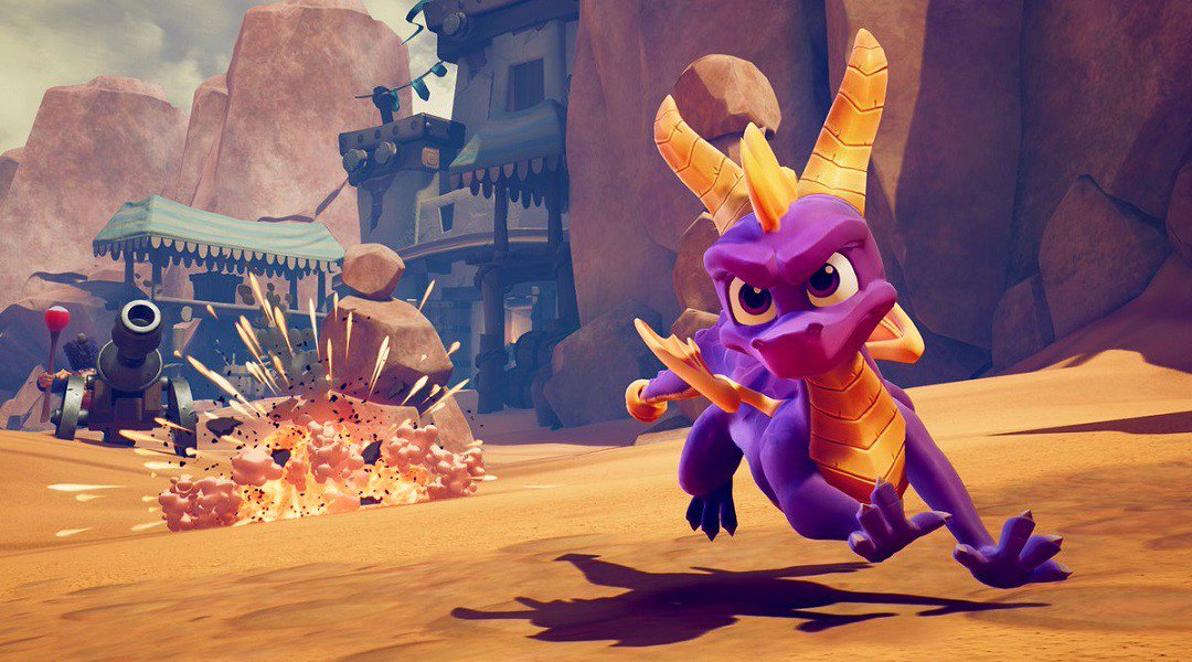 Mira el tráiler de lanzamiento de Spyro Reignited Trilogy