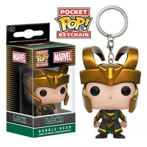 Llavero Funko Pop Loki Marvel