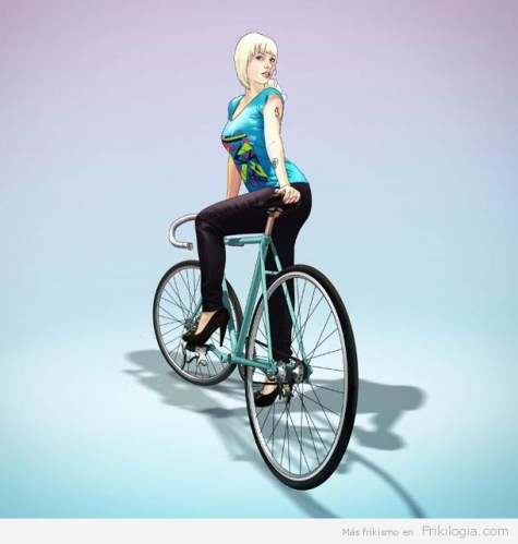 Pin-Ups-and-Bicycles-illustrations-by-Halfanese-6