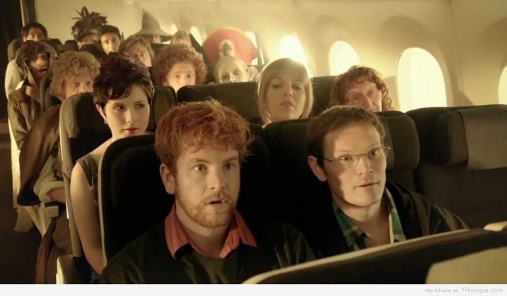 Posters de El Hobbit en 3d y vídeo de promo para los viajeros Neozelandeses