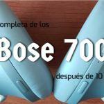 Análisis de los auriculares Bose 700