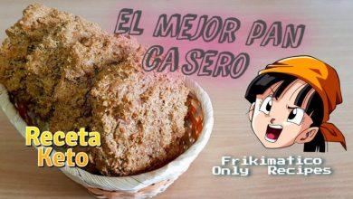 Receta Keto de Pan Casero