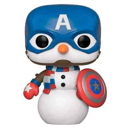 funko-pop-capitan-america-navidad-especial-navideño-marvel-holiday-christmas