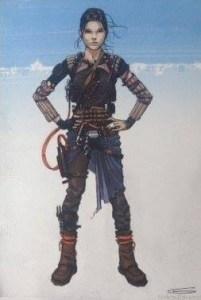 Daisy Ridley - Smuggler Gear