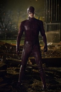The Flash traje