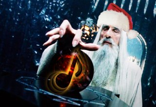 Saruman cantando metal