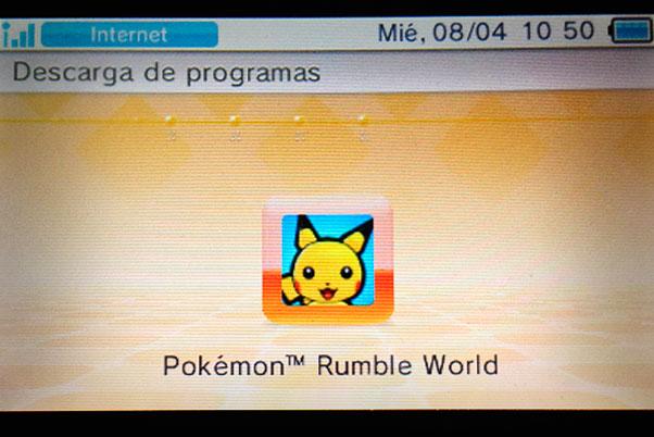decarga pokémon rumble wolrd