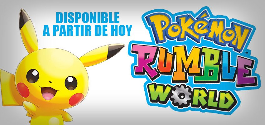 pokémon rumble world lanzamineto