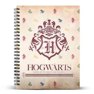 Cuaderno A5 Harry Potter Hogwarts