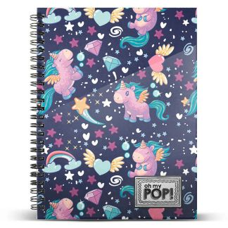 Cuaderno A4 Oh My Pop Magic