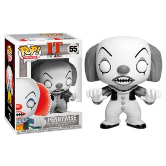 Figura POP It Pennywise Black and White Exclusive
