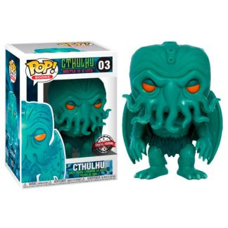 Figura POP Lovecraft Cthulhu Neon Green Exclusive