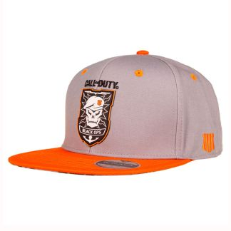 Gorra gris Black Ops 4 Call of Duty parche