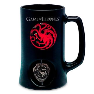Jarra logo 3D Targaryen Juego de Tronos
