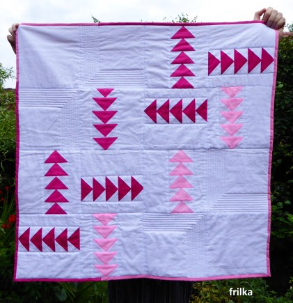 Pink Baby Quilt 1