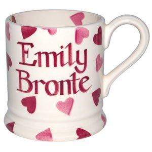 Emma Bridgewater Personalised pink hearts half pint mug - £18