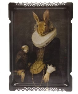 Liberty Ibride Zhao Rabbit Tray - £126