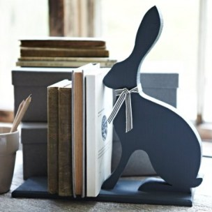 The Handpicked Collection Handsome Hare Bookends - £39.95