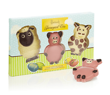 Harrods Farmyard trio - £4.95