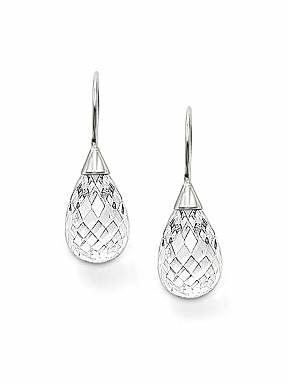 Thomas Sabo Classic White drop earrings - £86