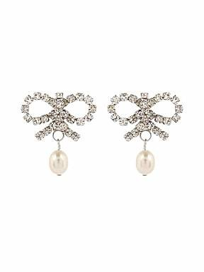 Martine Wester Pretty Bow Pearl earrings - £21