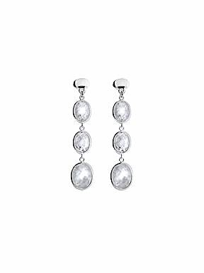 Azendi Sterling Silver Cubic Zirconia earrings - £47.50