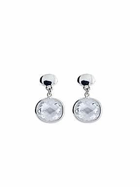 Azendi Sterling Silver Cubic Zirconia small drop earrings - £27.50