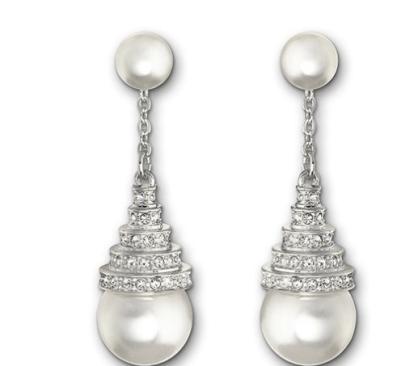 Perpetual drama drop earrings - £99