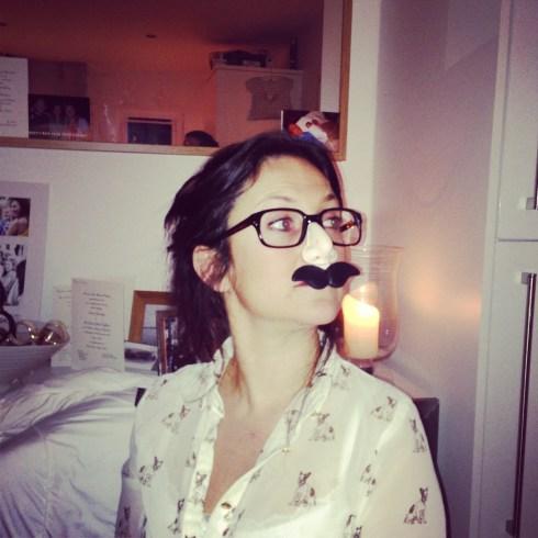 Moustache-dinner party