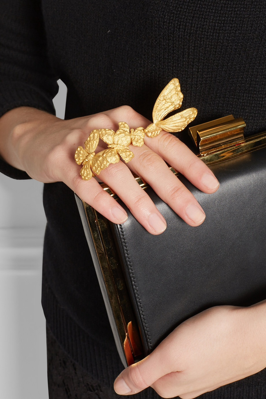 Valentino Butterfly ring