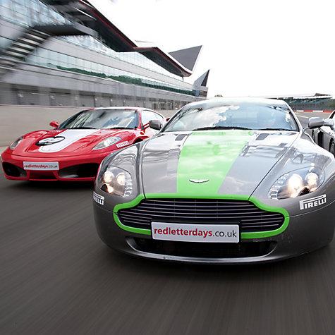 Red Letter Days Ferrari versus Aston Martin experience - £225