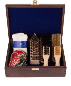 The Murdoch grooming shoe shine box from Liberty of London - £80