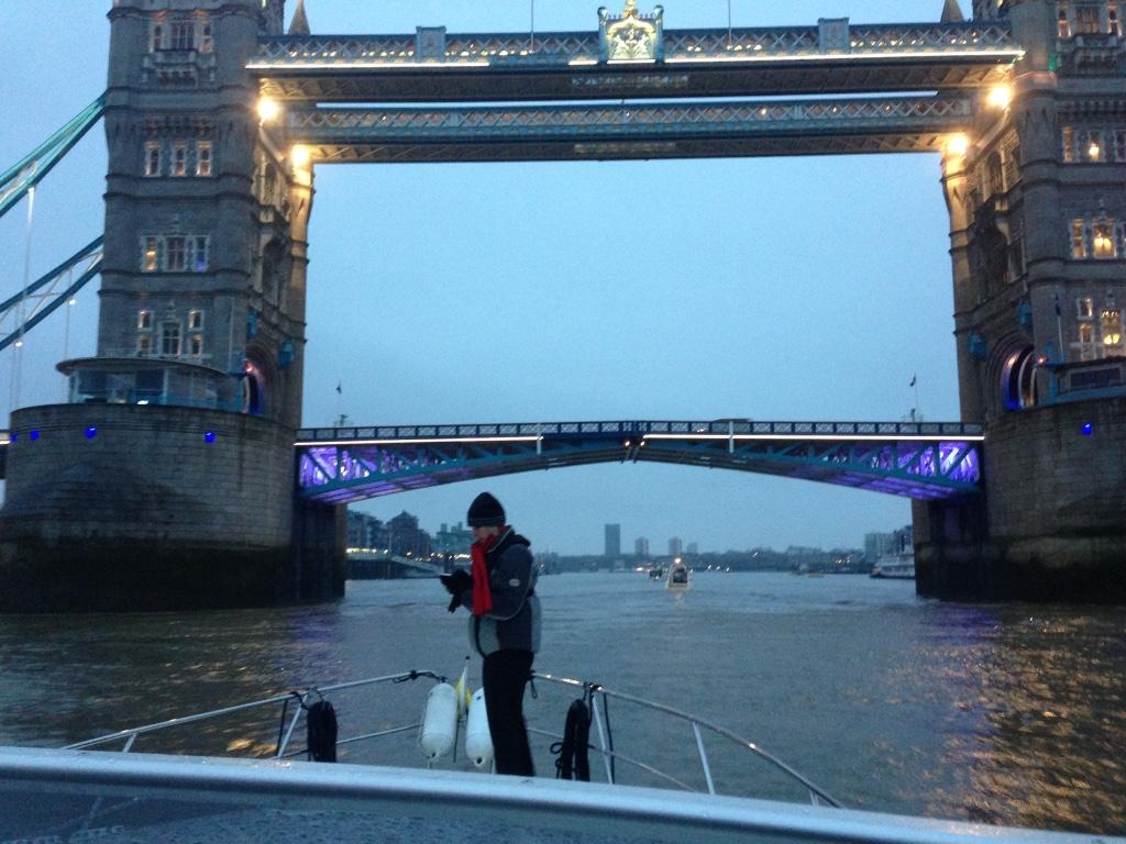 Tower Bridge by boat 2