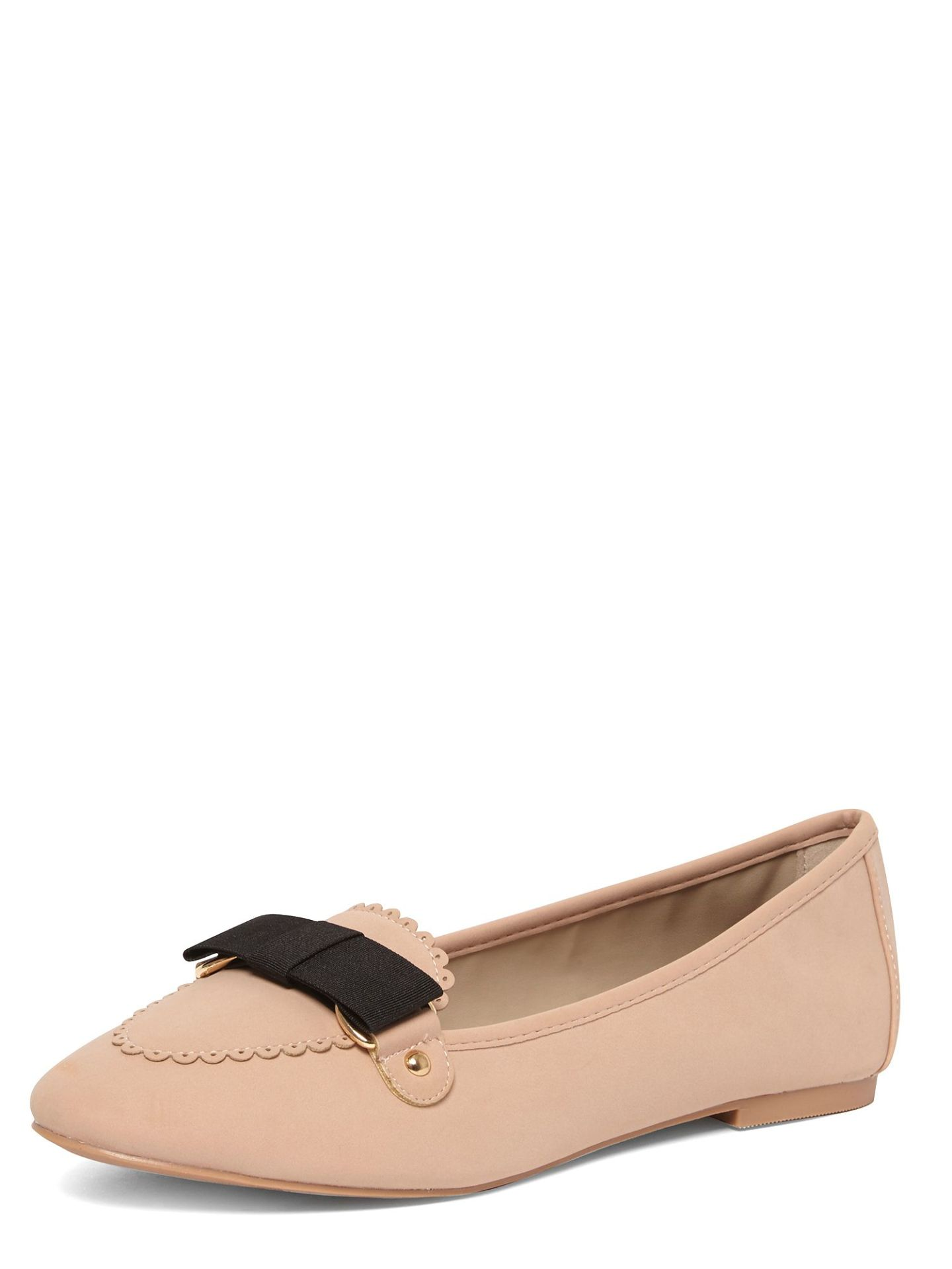 Dorothy Perkins Lisbon bow loafers