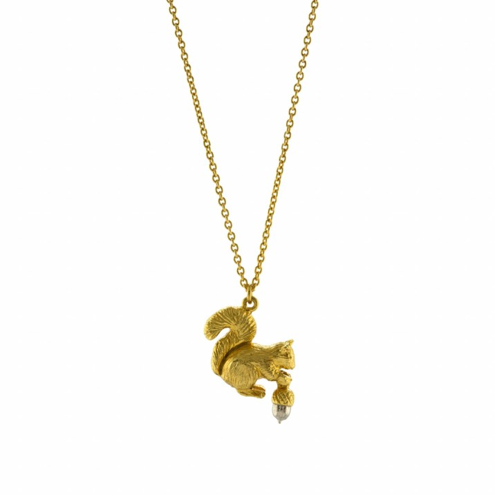 Alex monroe squirrel necklace