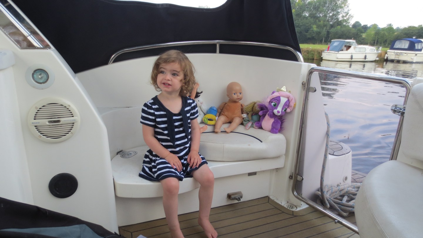 Poppy boating