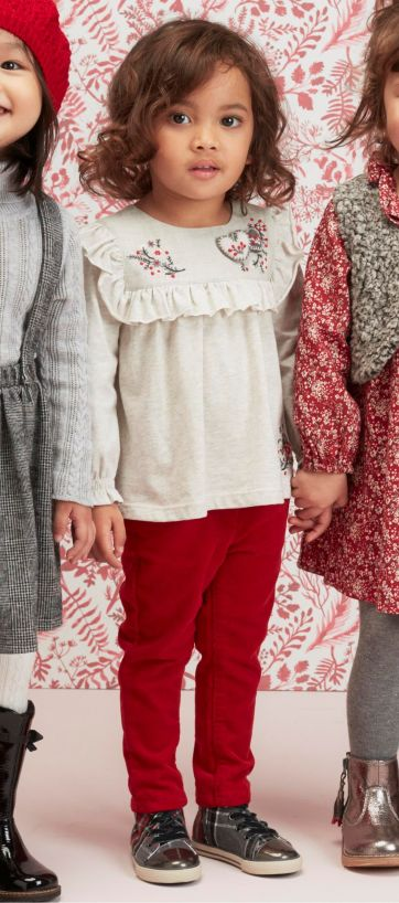 Next ecru embroidered blouse