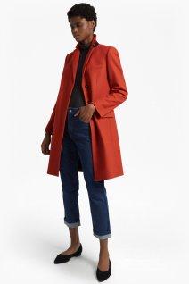 French Connection orange coat
