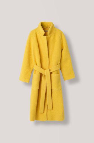 Ganni yellow coat