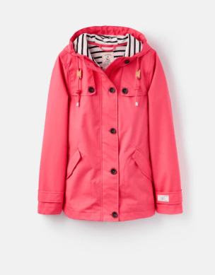 Joules pink mac